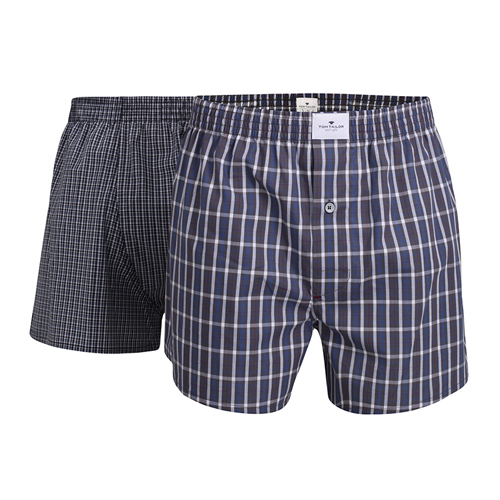 Boxershorts Tom Tailor - 2 Pack - Multi mørk blå (1)