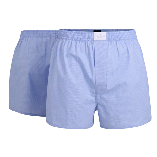 Boxershorts Tom Tailor - 2 Pack - Lyse blå (1)