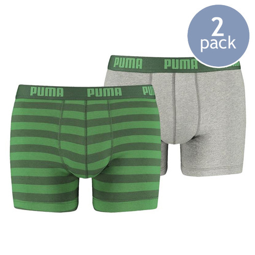 Puma boxershorts green striped (1)